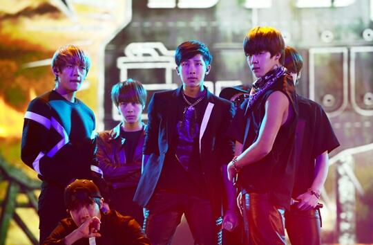BTS gayo daejun 2013