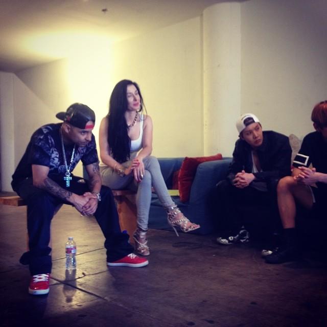 Bts Ig: [Picture/IG] BTS (J-Hope) With Klara Dykast And Goastsmoke