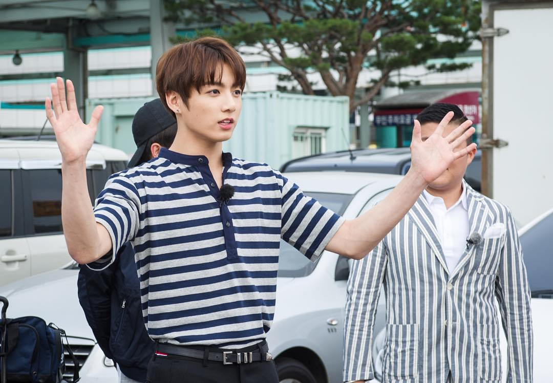 Picture  Bts Jungkook On Flower Crew  160715