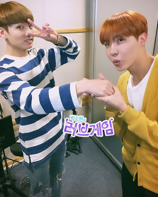 [Picture/IG] BTS at SBS Power FM Park Seo Hyun Love game