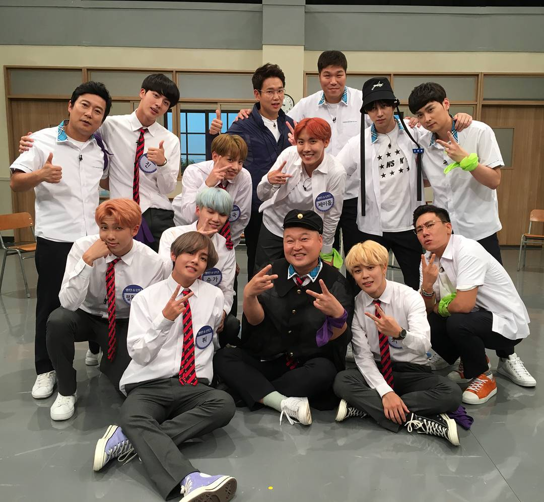 Video] BTS at Knowing Bros [170923] |