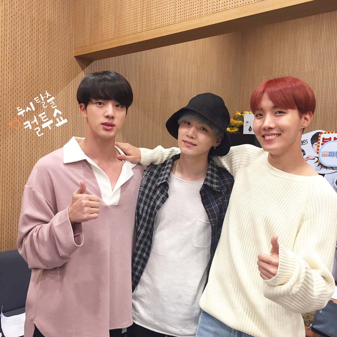 Bts Ig: [Picture] BTS At SBS Power FM Cultwo Show [170921]