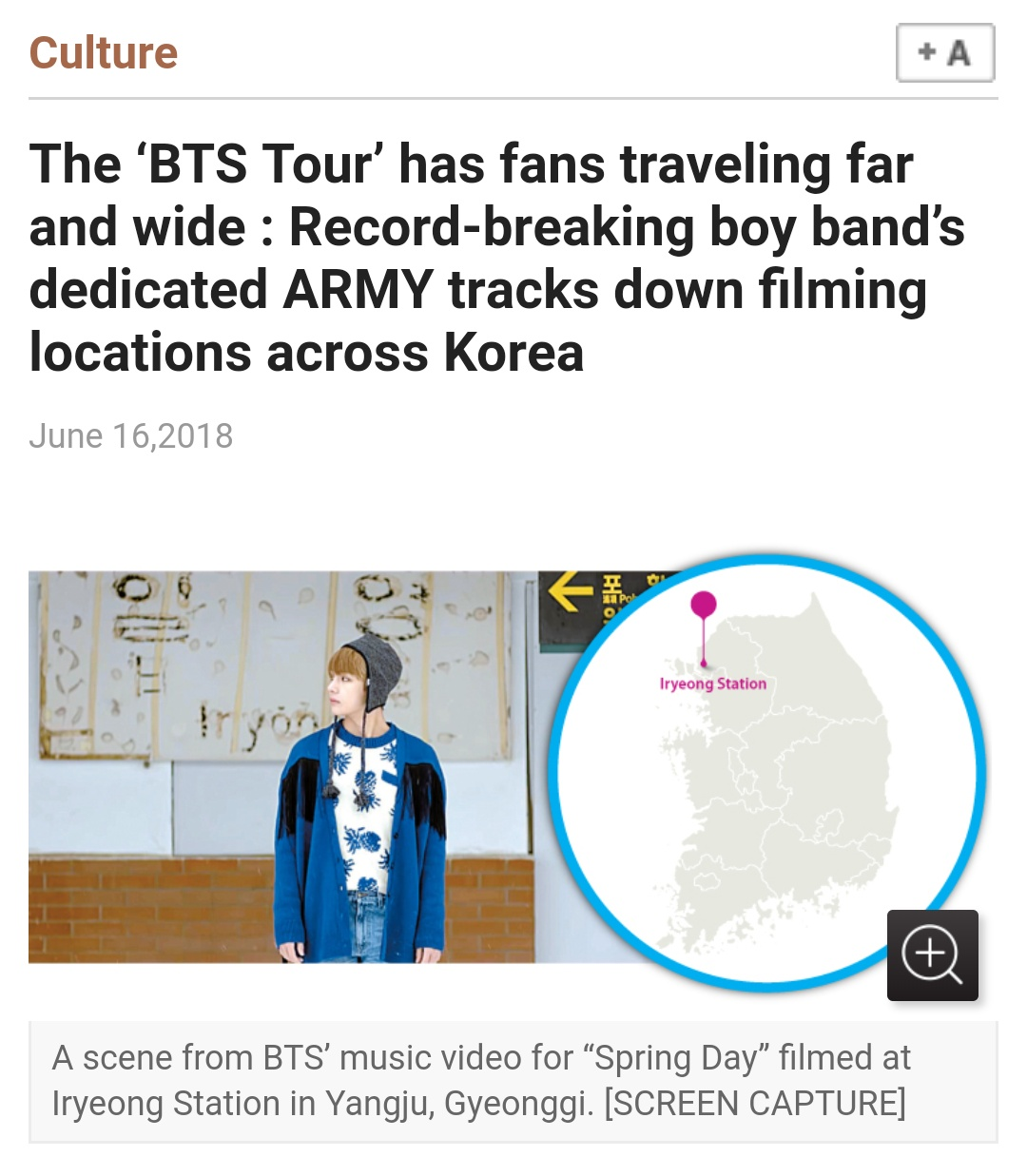 News] The 'BTS Tour' has fans traveling far and wide