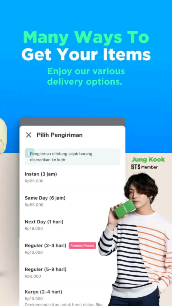[Picture/Video] BTS X Tokopedia [191007] #TokopediaXBTS #